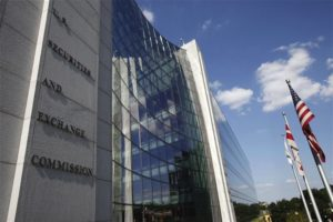 The U.S. headquarters for the Securities and Exchange Commission