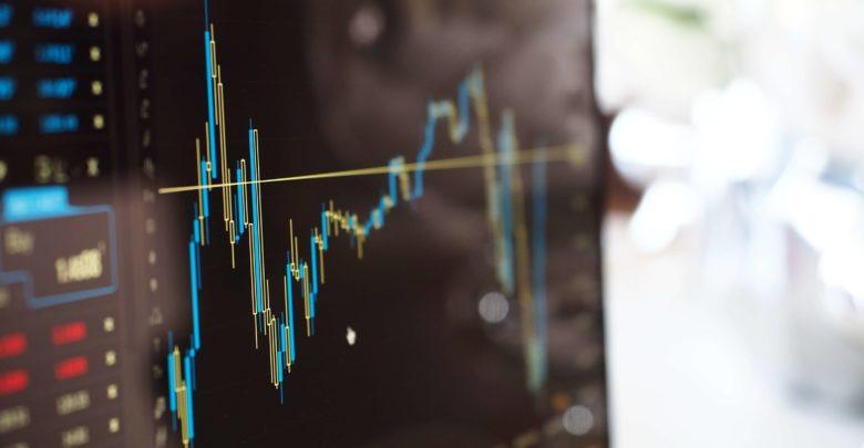blur-business-chart