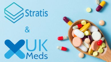 Stratis-UK-Meds-blockchainland