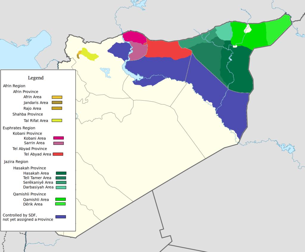 De_facto_cantons_of_Rojava