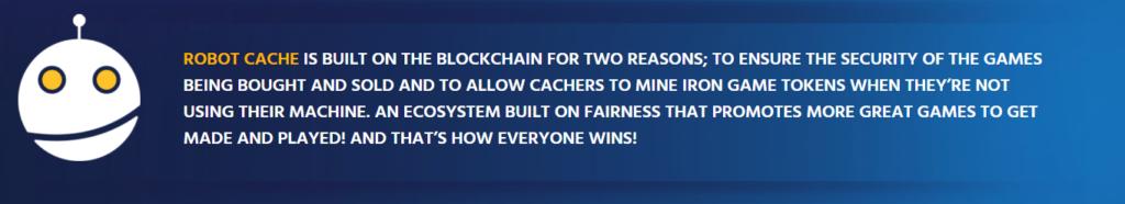Robot-Cache4-BlockchainLand