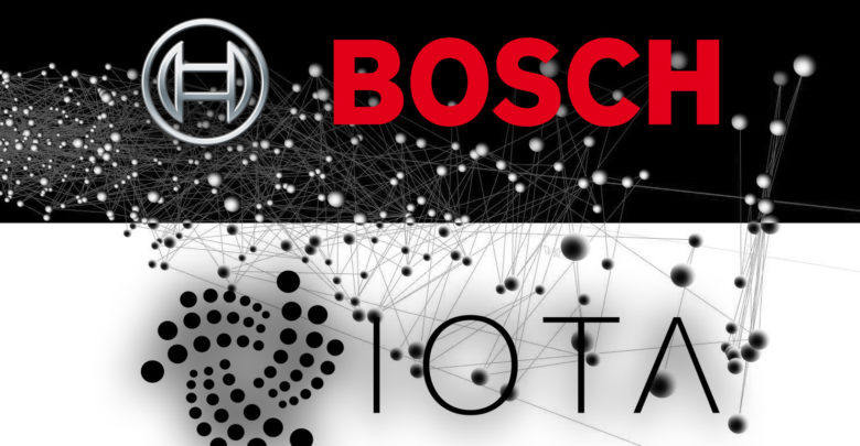 Bosch announces partnership with IOTA - The Blockchain Land