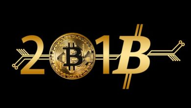 Bitcoin Money New Year's Day Coin Electronic Money