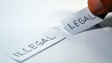 Is Blockchain Illegal? a Blockchain Land Article