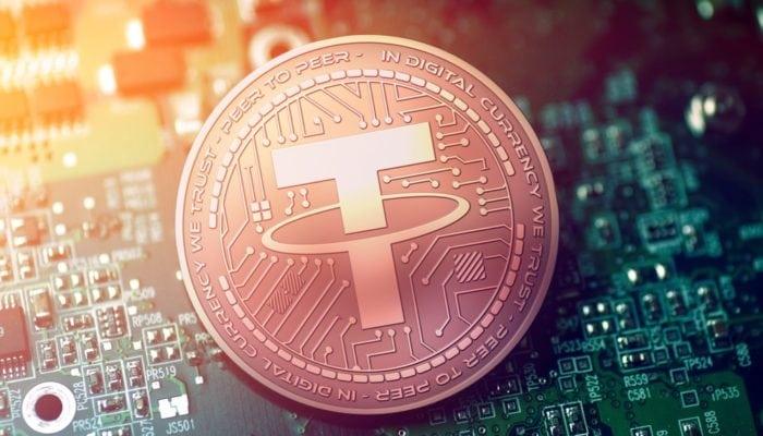 Tether Blockchain Land article