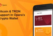 Opera-BTC-TRON-BlockchainLand