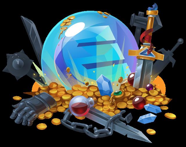 enjin-coin-jeux-videos-blockchain-abric-blockchainLand